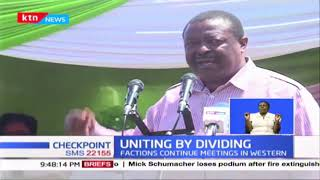 Musalia Mudavadi accuses opponents of using police to frustrate his 2022 presidential bid
