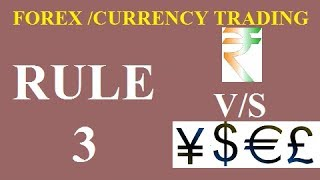 RULE-3 -12 Golden Rules For Forex Trading Success(HINDI) [ TOP RATED ]