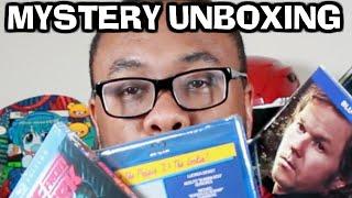 MYSTERY MOVIES UNBOXING (Films, Food & Fun) : Black Nerd