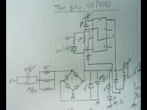 Time delay ckt for Voltage Stabilizer YouTube