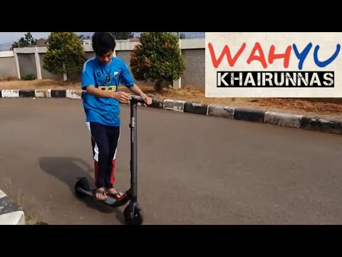 Ninebot ES2 Kick Scooter Electric By Segway Black Indonesia
