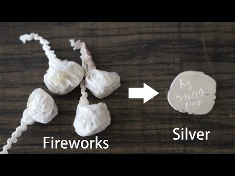 Precious Metal Refining & Recovery, Episode 11: Silver From Bang Snaps