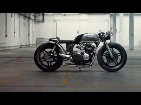 Honda CB 750 DOHC KZ (Hookie Co ) - Caferaceros - YouTube