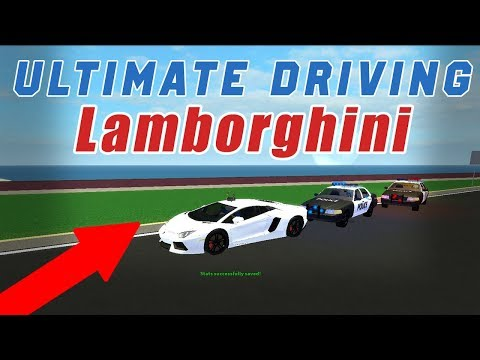 LAMBORGHINI AVENTADOR Ultimate Driving! Getting pulled over!