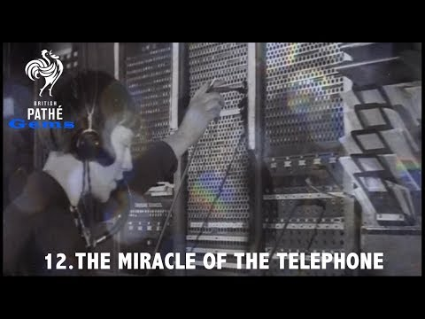 The Mircale of the Telephone | British Pathé Gems Nº11