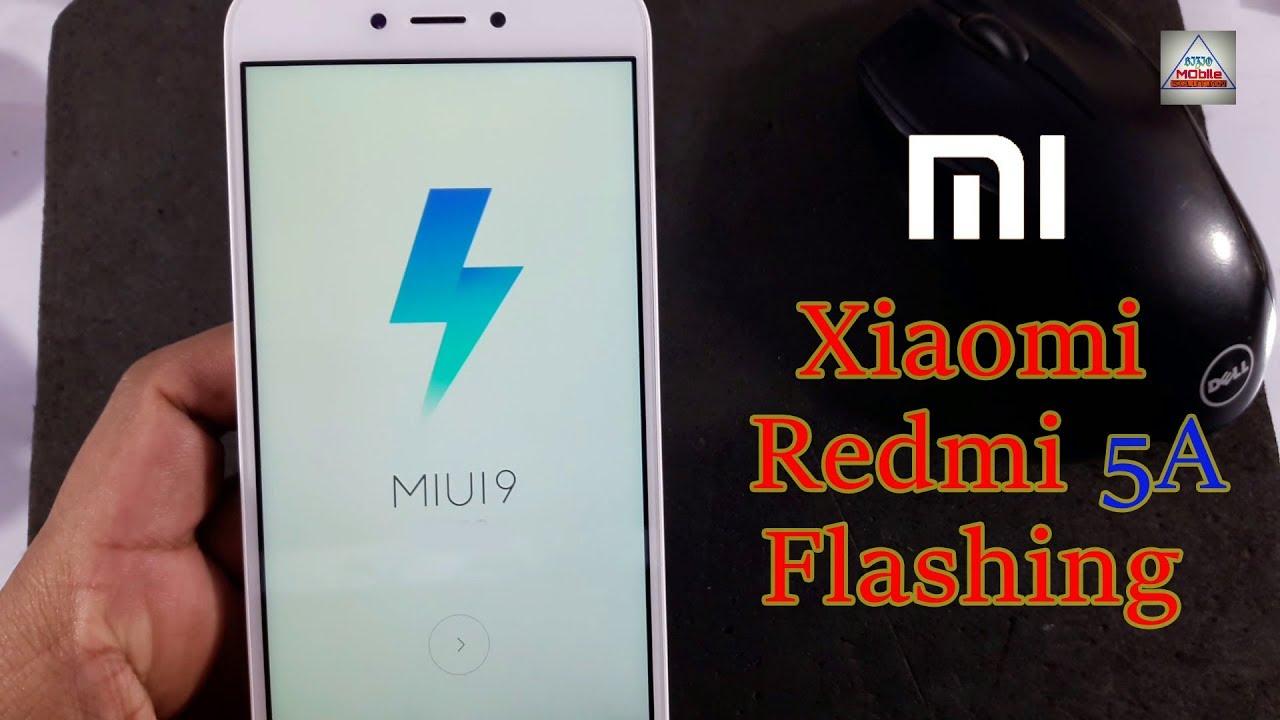 How to Flash Xiaomi Redmi 5A??
