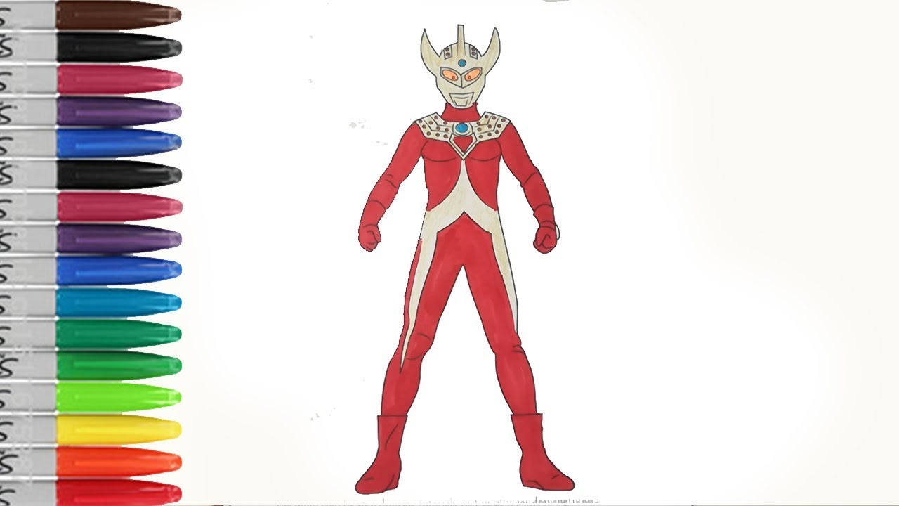 Ultraman Taro The Father Of Ultramans Coloring Pages Sailany