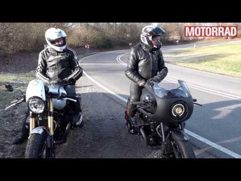 MOTORRAD Beitrag Arrigoni Sport BMW R nine T Dark Knight