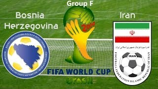 World Cup 2014: Bosnia vs Iran (Game Recap)