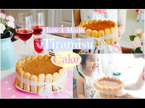 ♡ Làm Bánh Tiramisu (không cần lò nướng) ♡ How I Made Tiramisu Cake For My Birthday ♡ mattalehang