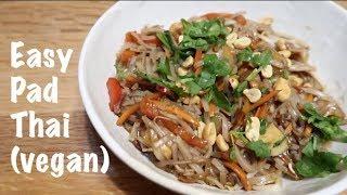 Easy Pad Thai - Vegan!