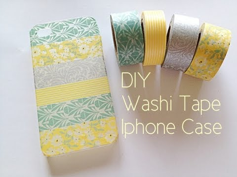 Washi Tape Iphone Case