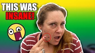 YOU WON'T BELIEVE WHERE WE PIERCED HER!!!