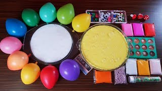 Mixing Random Things into Homemade Slime - Satisfying Slime Video