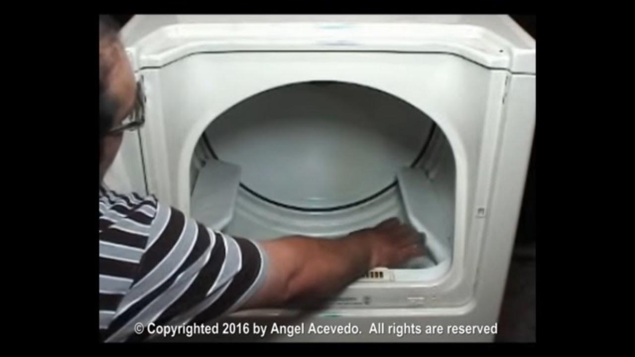 Maytag Dryer Drum Baffles Youtube Electric Model Mde9606ayw