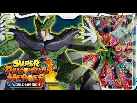 Cell X Is An Invincible Tank Of Destruction Super Dragon Ball Heroes Wm