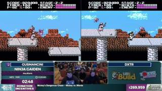 Ninja Gaiden by gusmancini and dxtr in 17:31 - Awesome Games Done Quick 2017 - Part 40