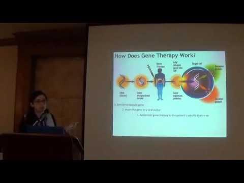 Dr  Roberta Marongiu presents 'Gene Therapy in Parkinson's Disease'