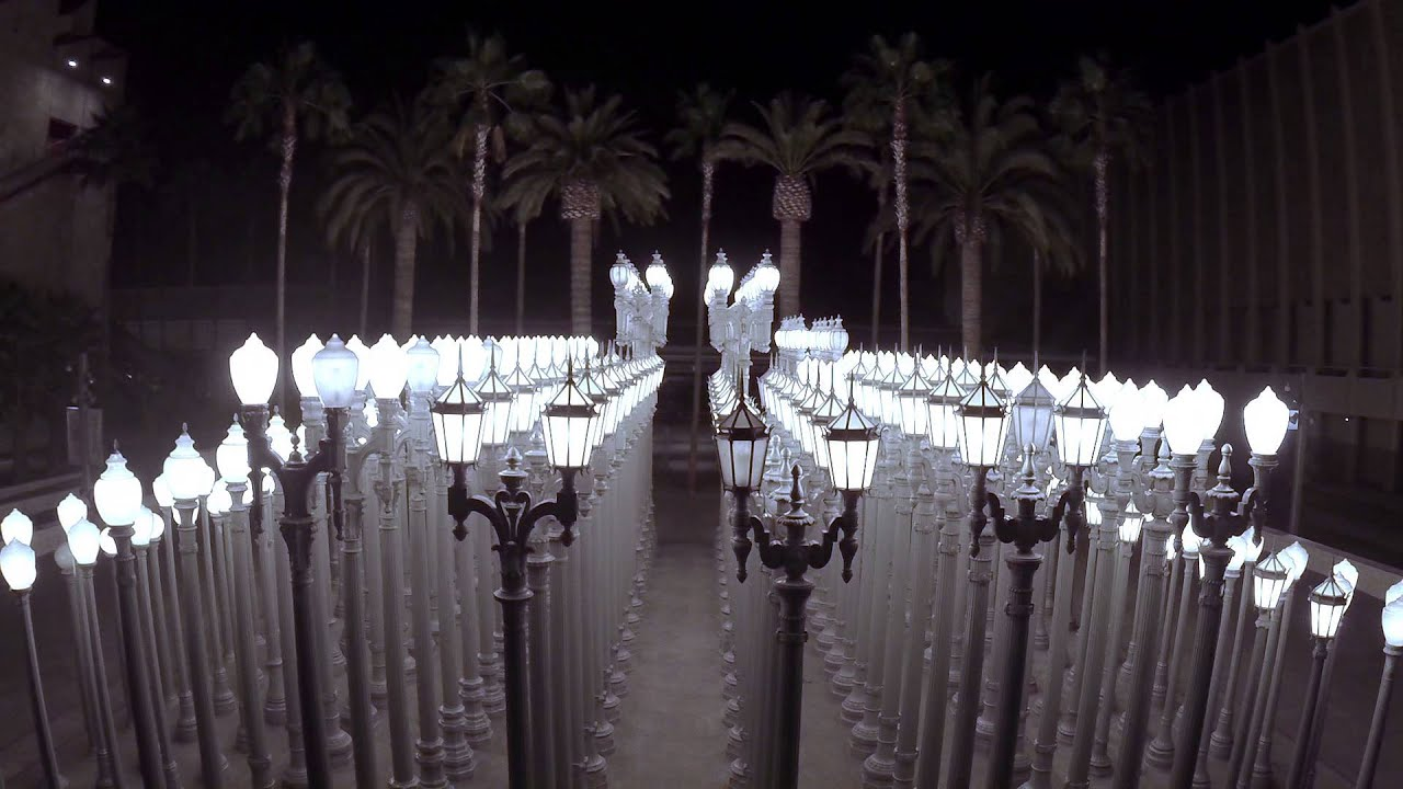 LACMA URBAN LIGHTS FLYOVER