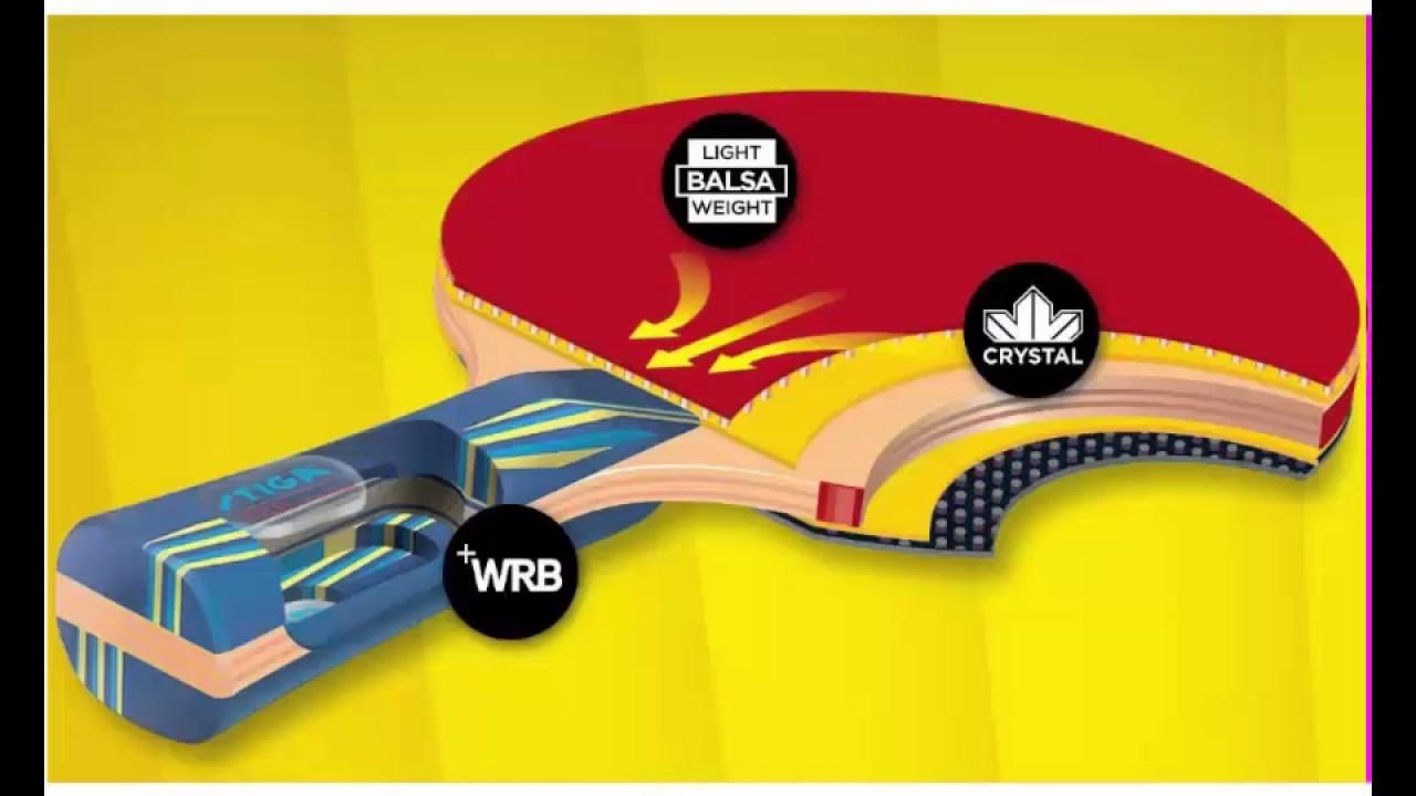 STIGA Titan Table Tennis Racket - YouTube c28bd2eec