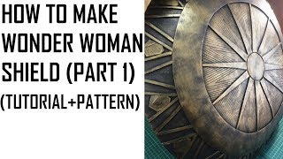 Wonder Woman SHIELD Cosplay Tutorial and Pattern (PART 1)