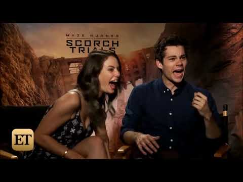 [VOSTFR] Dylan O'Brien & Kaya Scodelario - Interview about stand up and baseball - Death Cure