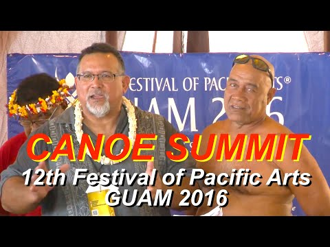 The First Canoe Summit at the 12th Festival of Pacific Arts, Guam, 2016 (1)