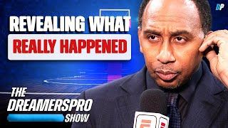 Stephen A Smith Finally Breaks His Silence On Max Kellerman Leaving ESPN First Take