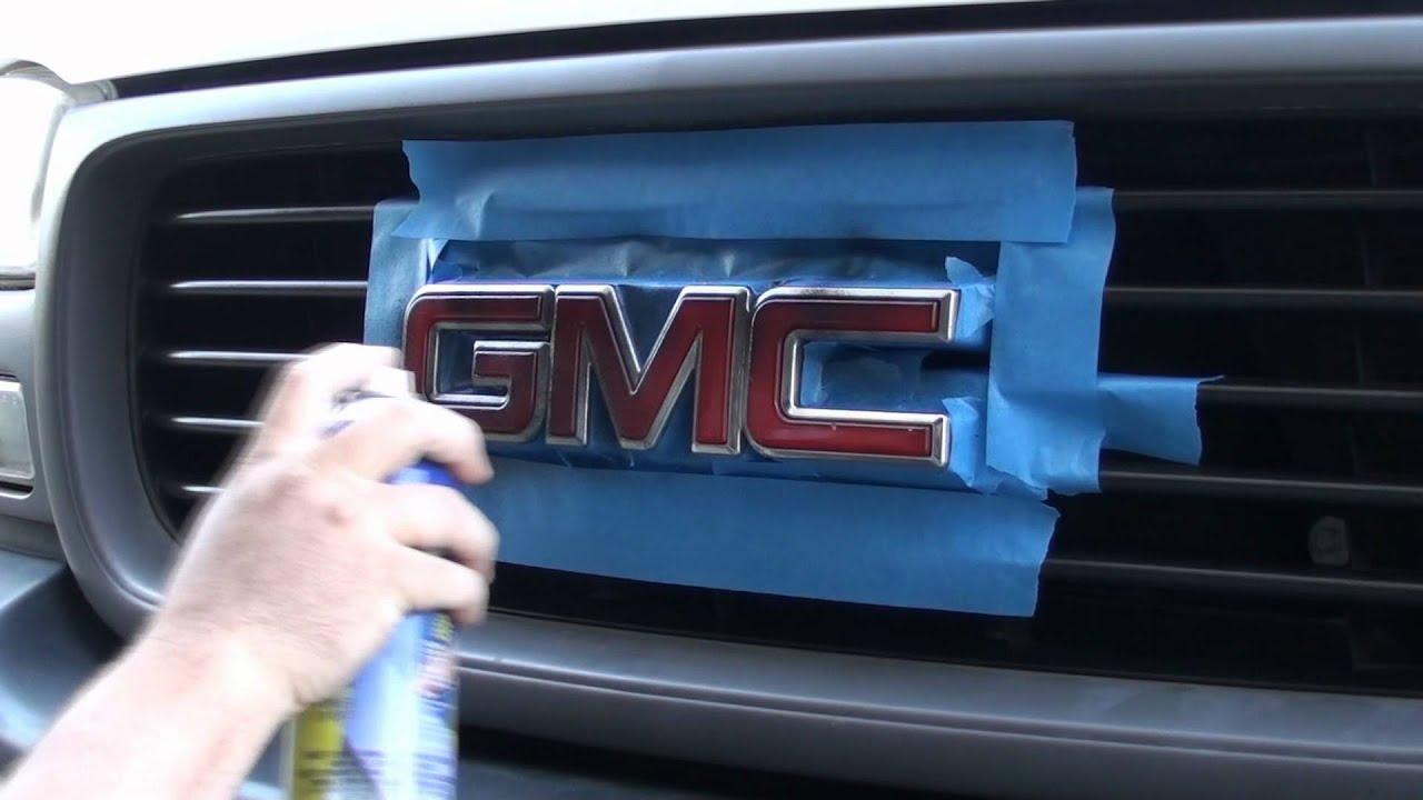 Best Spray Paint For Car Emblems