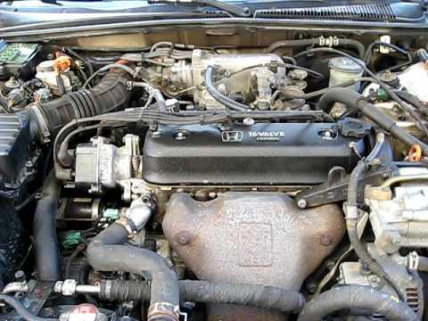 Honda accord engine noise avi youtube for Motor oil for 1996 honda accord
