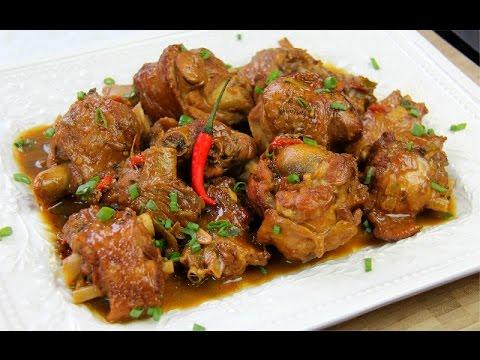 Stewed Turkey Wings Recipe