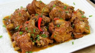 Stewed Turkey Wings Recipe - Chris De La Rosa