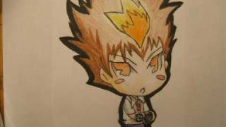 How to Draw Chibi Tsuna