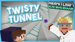 Tunnel with a Twist! - Minecraft Hermitcraft Season 8 #10