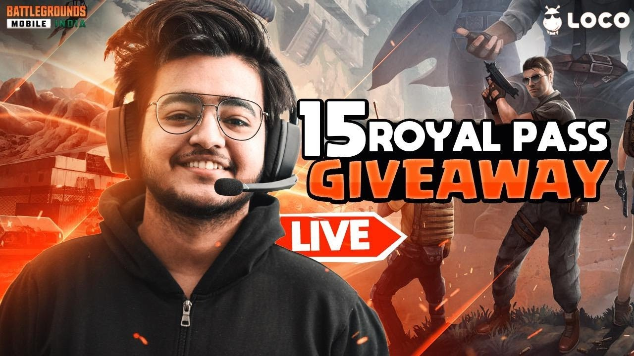 15x RP GIVEAWAY ON LOCO || BGMI CUSTOM GAMES AND CLASSICS