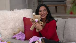 Little Live Pets Cozy Dozy Bedtime Buddy Bear on QVC