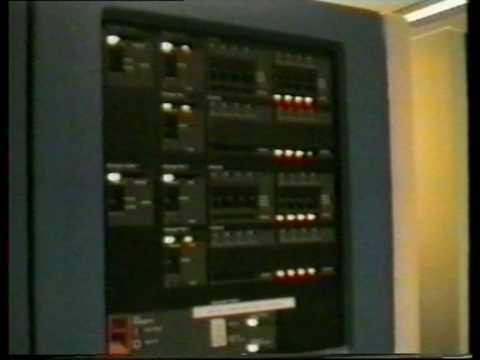 IBM System 390 Computer room circa 1990