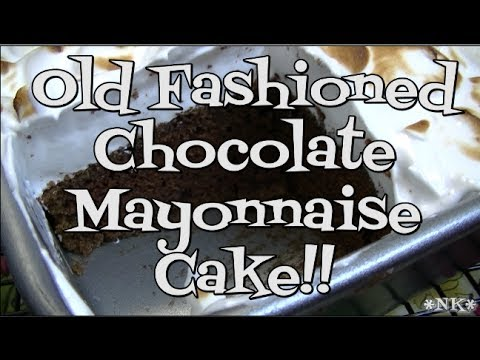Old Fashioned Chocolate Mayonnaise Cake!! Noreen's Kitchen