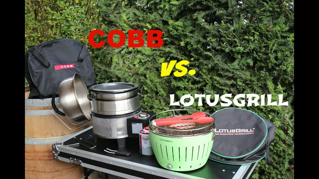 Aldi Bbq Holzkohlegrill Test : Cobb grill vs lotusgrill was passt in die tragetasche youtube