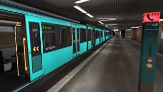 [TS18] U-Bahn Frankfurt U5 Wagen Soundmod mal testen