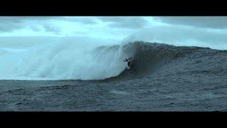 Charging Big Waves in Ireland: Michel Bourez