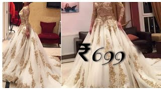 *wedding special*designer gown|bridal gown review|online shopping review