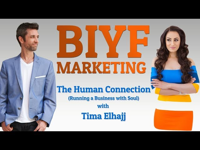 The human connection in business - human connection in the digital age - with Tima Elhajj