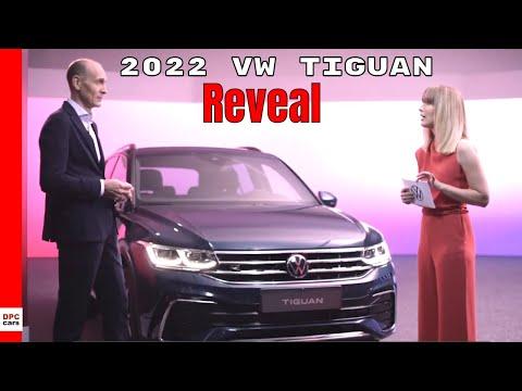 2022 VW Tiguan Reveal - Volkswagen