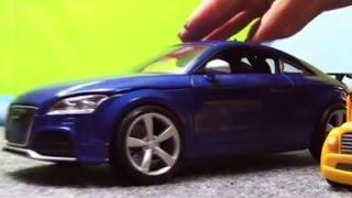 Видео про машинки - Собираем Audi