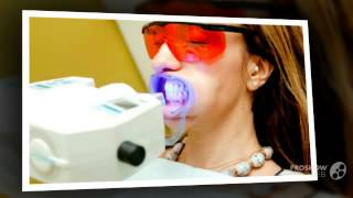видео Процедура щадящего безвредного отбеливания зубов