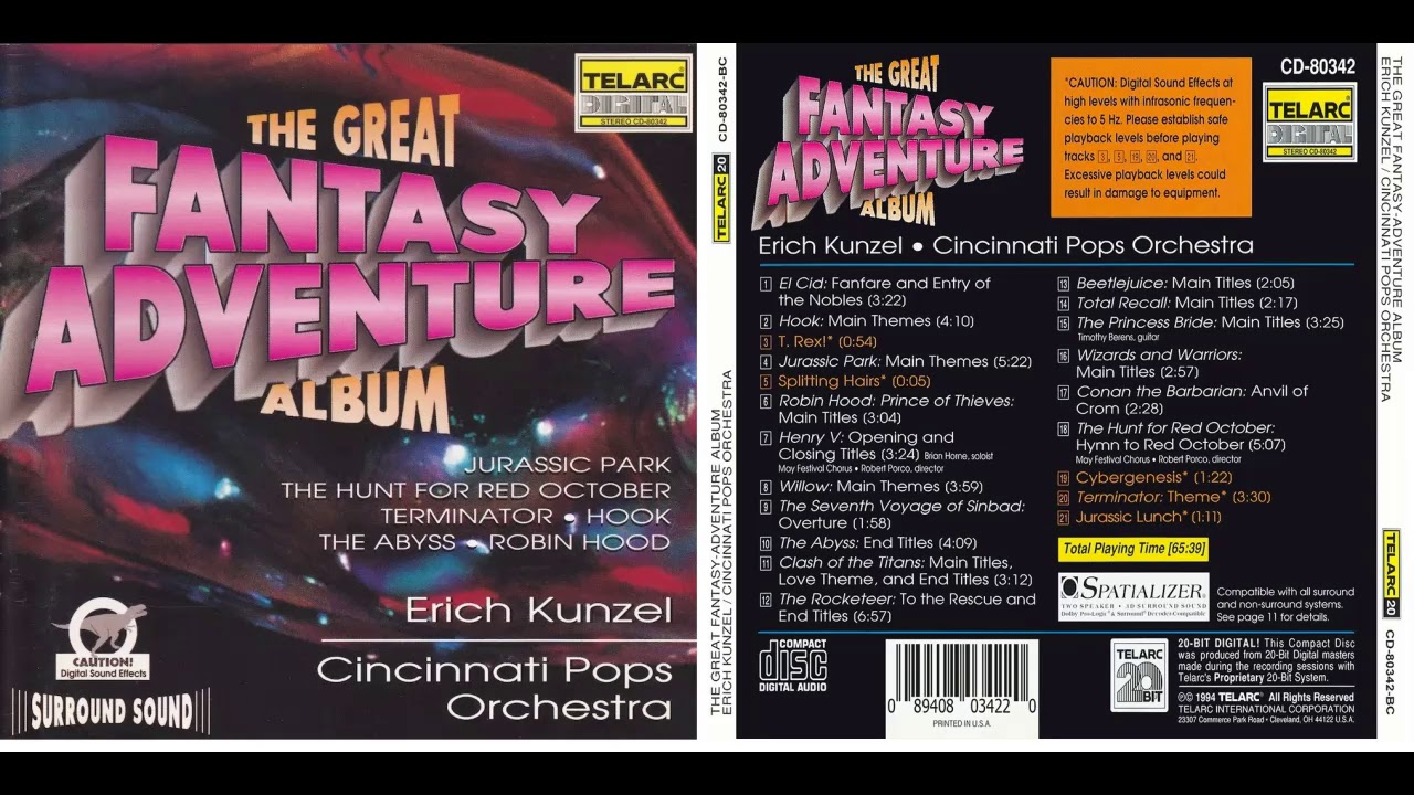 Cincinnati Pops Orchestra & Erich Kunzel - Video