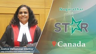 Justice Valliammai Chettiar, Provincial Court of British Columbia, Canada - STAR 23, IBCN 2019