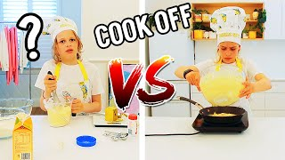 BIGGY VS SOCKIE PANCAKE COOK-OFF w/ The Norris Nuts