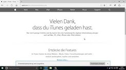 iTunes installieren auf Windows 10
